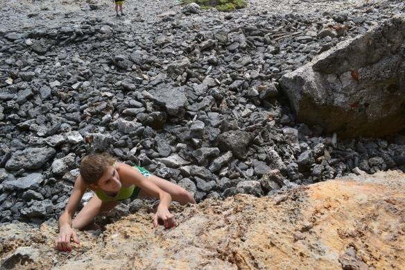 cayman brac cave climbing